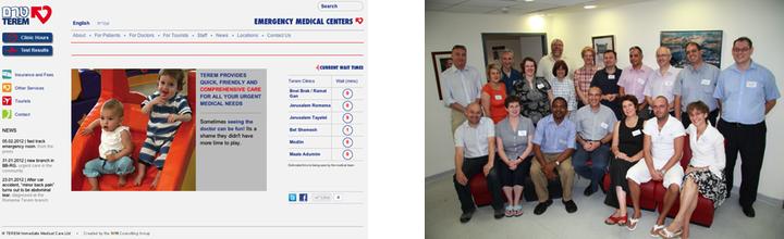 Terem Web Site and UK Delegation Visit